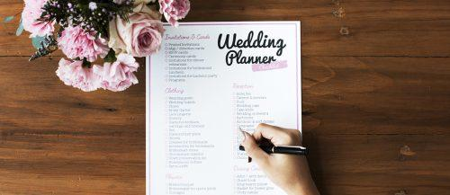 wedding planning checklist featured