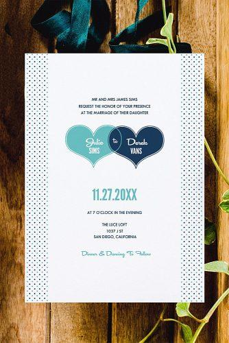 diy wedding invitations hearts and polka dots free printable invitations