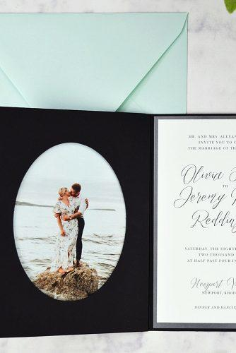 diy wedding invitations photo wedding invitations pocket