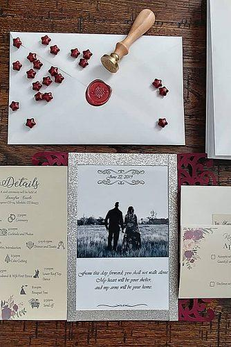 diy wedding invitations photo wedding invitations