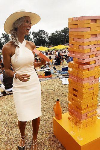 unique wedding reception ideas giant jenga wedding guest book