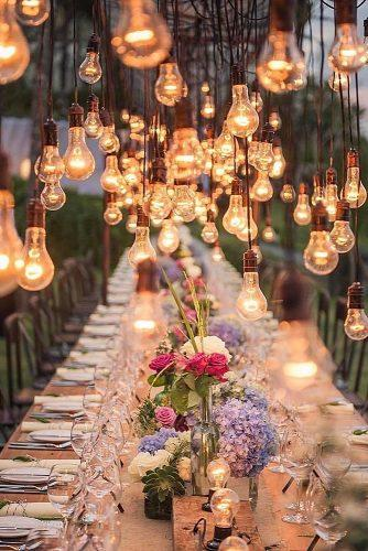 unique wedding reception ideas lighting for wedding