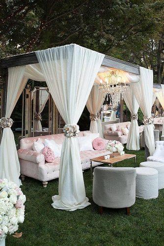 unique wedding reception ideas stylish wedding reception with lounge zone