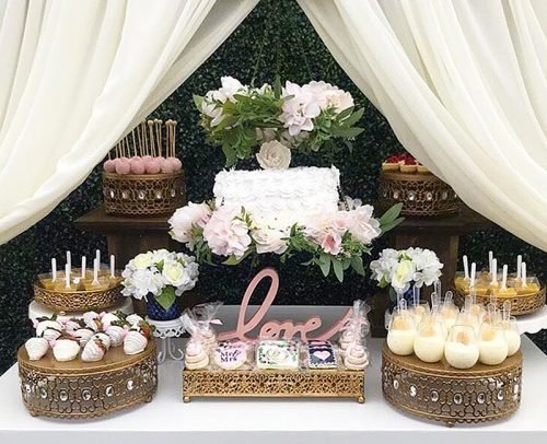 wedding cake alternatives wedding dessert table