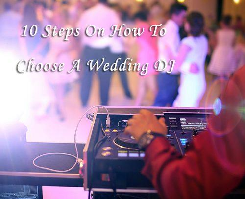 wedding dj wedding reception