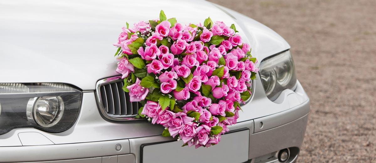 Fun Funky Wedding Car Decoration Ideas