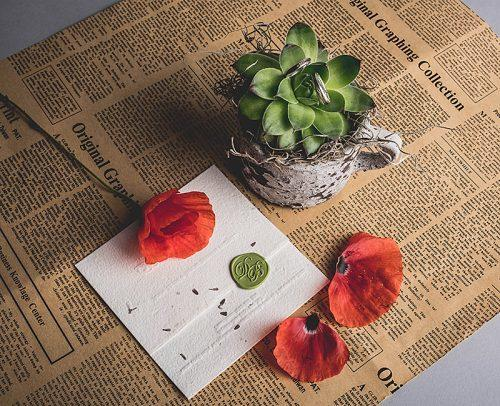 modern wedding diy wedding invitations