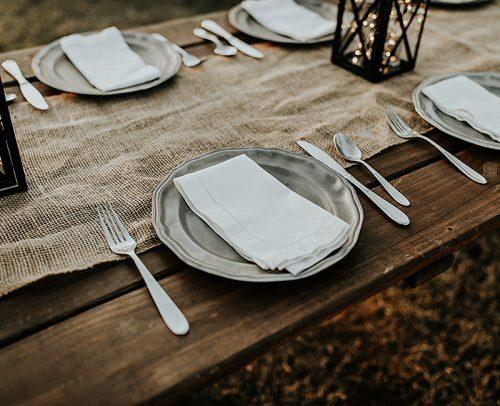modern wedding mix metals