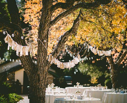 modern wedding venue decor