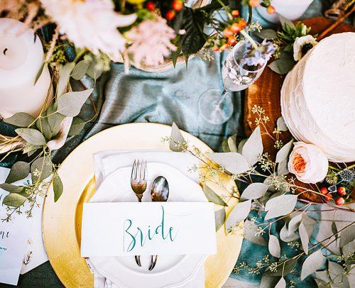 modern wedding wedding table decor