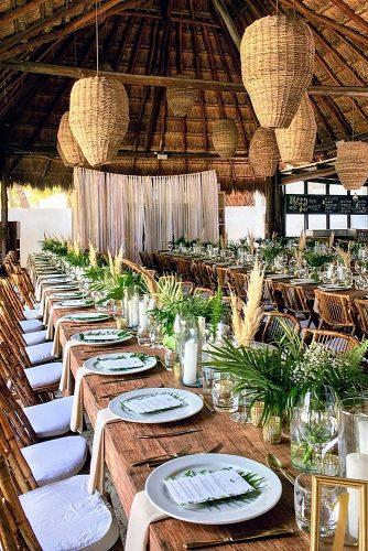 cheap wedding venues beach wedding mock destination tropic theme