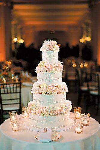 chic wedding cakes 2