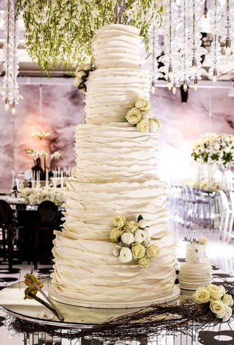 simple elegant chic wedding cakes big rifler cake myeventdesign