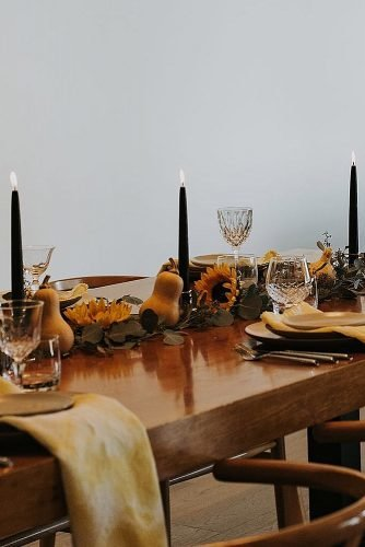 how to make wedding centerpieces harvest decor wedding table