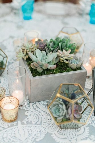 how to make wedding centerpieces succulent centerpiece