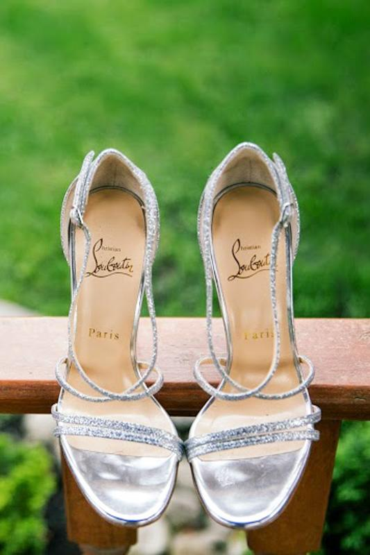 Laboutin wedding shoes