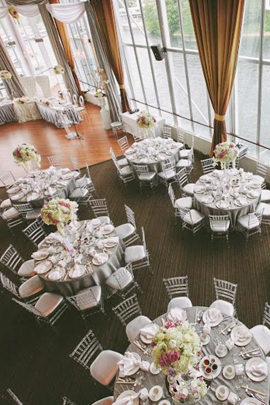 Wedding Venue Table Layout