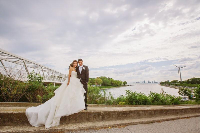 Bride and Groom in Toronto
