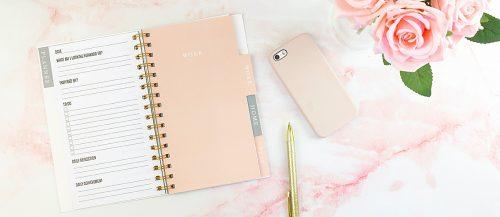 what does a wedding planner do notebook planning