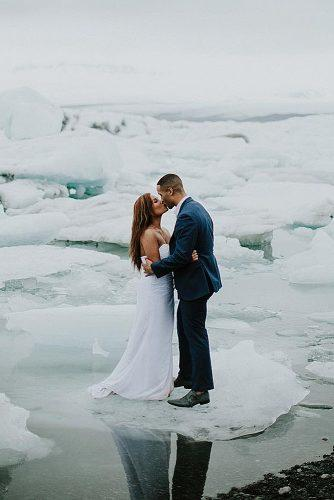 winter wedding wedding newlyweds photo