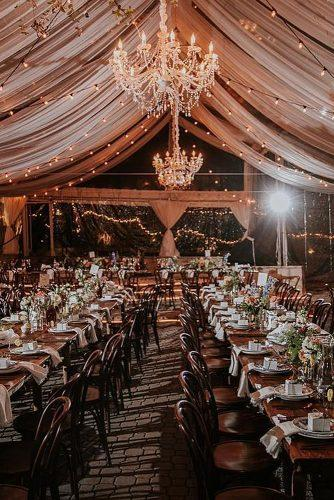 winter wedding wedding reception idea