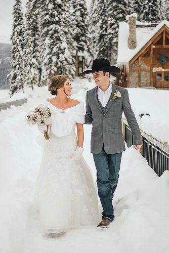 winter wedding wedding venue idea