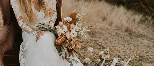 personalize wedding boho bride outdoor wedding rustic decor featured
