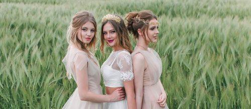 bridesmaids wedding hairstyles featured
