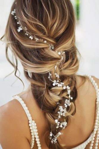 hottest bridesmaids hairstyles ideas hottest braid with accessory bridesroom
