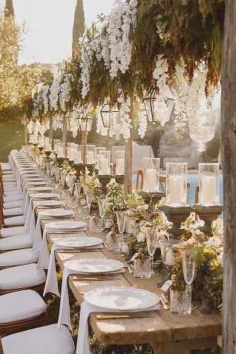 simple wedding ideas wedding reception decorations