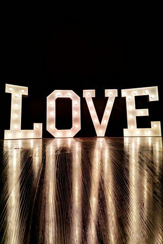 wedding signs love marquee sign
