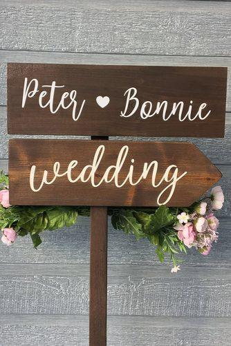 wedding signs wooden wedding sign