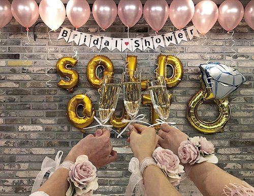 bridal shower balloons party