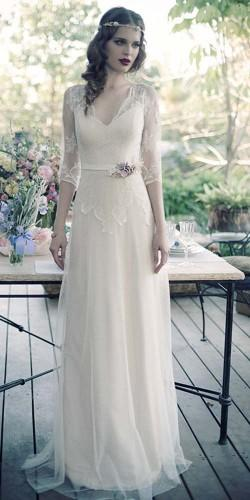 vintage inspired wedding dresses erez ovadia 6
