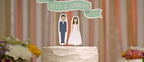 creative wedding cake topper inspiration ideas