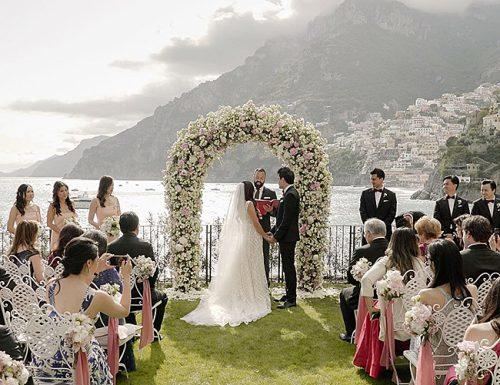 how to plan an outdoor wedding beautiful ceremony mountains