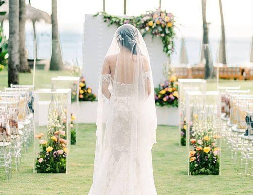 how to plan an outdoor wedding bride ceremony beautiful