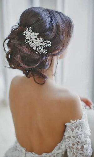 romantic bridal hairstyles 27