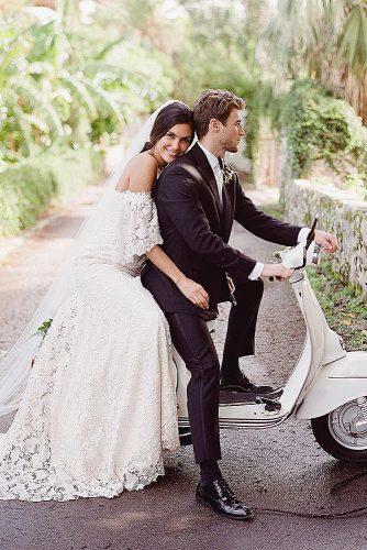 things brides regret bike couple married happy