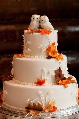 wedding cake toppers cute owls and leaves-echo media photography