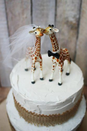 wedding cake toppers lovely giraffes morgan TheCreator etsy
