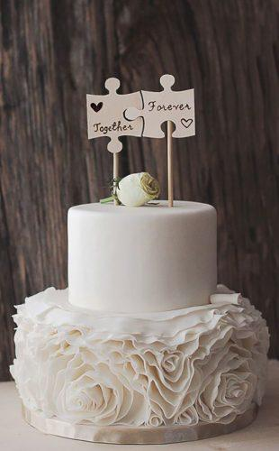 wedding cake toppers rustic idea FIREArtbykatrin
