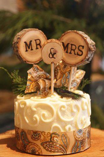 wedding cake toppers rustic idea auntbeasapiary