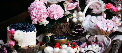 wedding dessert table ideas vintage modern featured