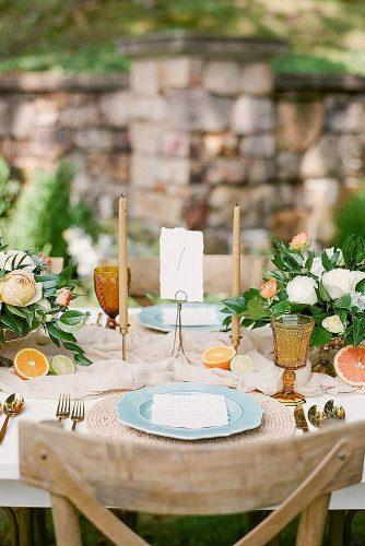wedding themes citrus theme
