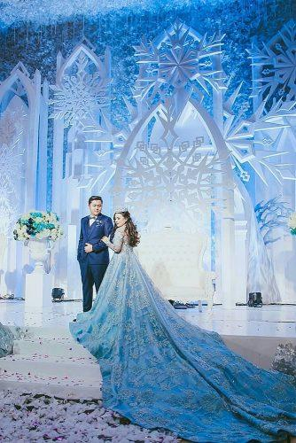 wedding themes frozen style wedding