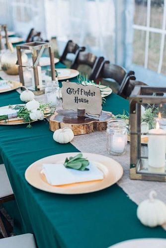 wedding themes harry potter style