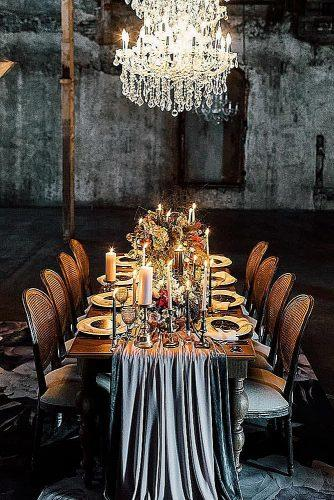 wedding themes rich black bright bronze