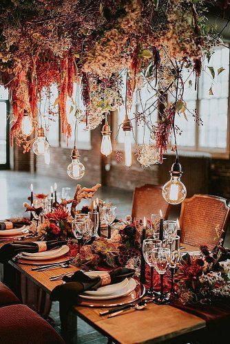 wedding themes rich copper style