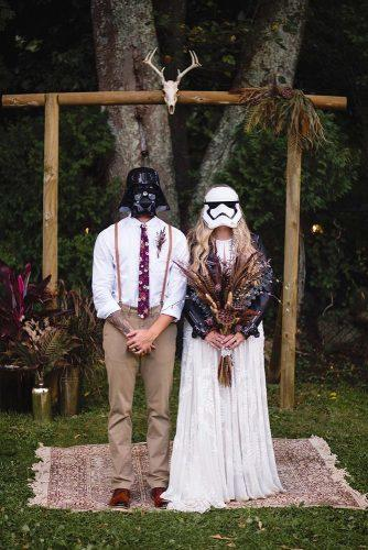 wedding themes star wars wedding